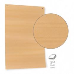 Papel de cartón marrón