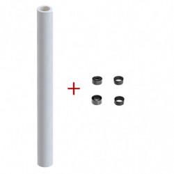 Rollo de papel LW-X, blanco