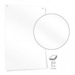 White Pinboard Paper – plain