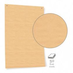 Papel de cartón marrón...