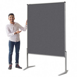 EuroPin® UT Pinboard: grey...