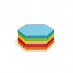 Stick-It Cards, hexagonal,...
